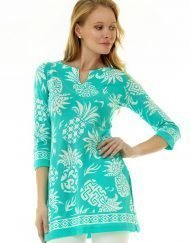 380c12 coordinate knit tunic seafoam