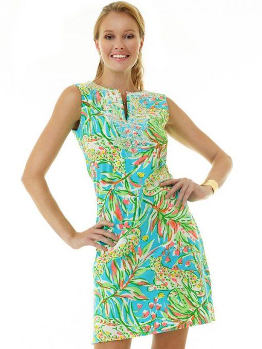 610c19 vintage knit dress seafoam yellow
