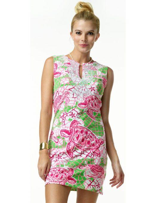 610C50 Artisan Knit Dress Pink 99963