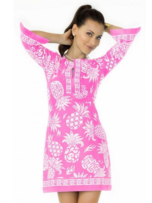 Coordinate Knit Dress Style 580C12 - Medium Pink