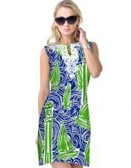 610C49 Lime-Navy