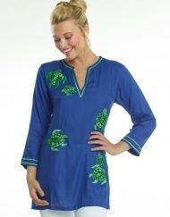 520r68-embroidered-jacquard-silky-cotton-tunic-royal-pb-green