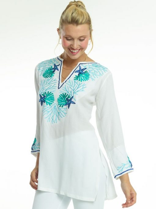 520r70-embroidered-jacquard-silky-cotton-tunic-seafoam-royal-jade
