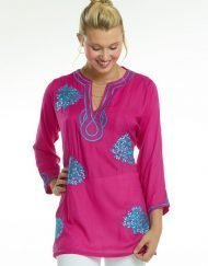 520r71-embroidered-jacquard-silky-cotton-tunic-hot-pink-seafoam